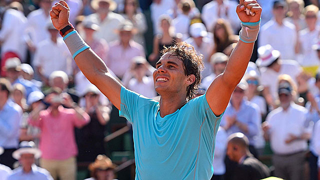Rafael Nadal, an 8-time French Open champ, is looking to tie Pete Sampras with his 14th major title. (USATSI)