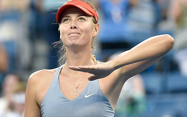 After losing the first set, Maria Sharapova gets back on track and advances. (USATSI)