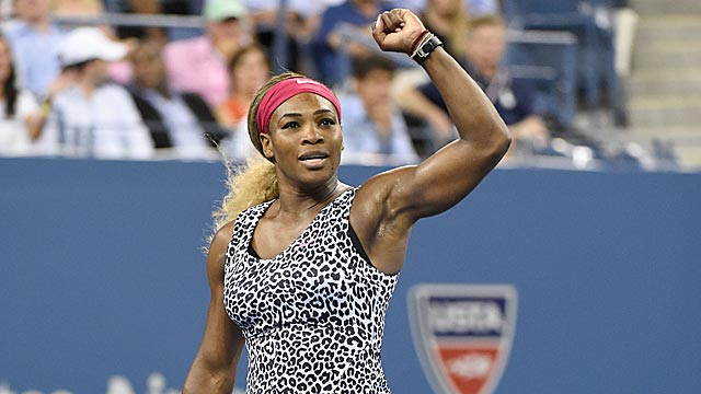 Serena Williams is too strong to let a bad start derail her quest for another US Open title. (USATSI)