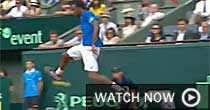 Gael Monfils (screen grab)