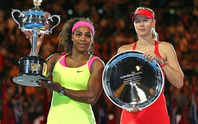Serena Williams And Sharapova Match - image 3