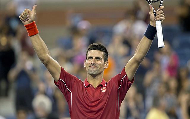 Novak Djocovic advances in straight sets. (USATSI)